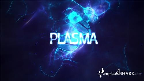Power Light Plasma Titles 4K - After Effects Project (Videohive)