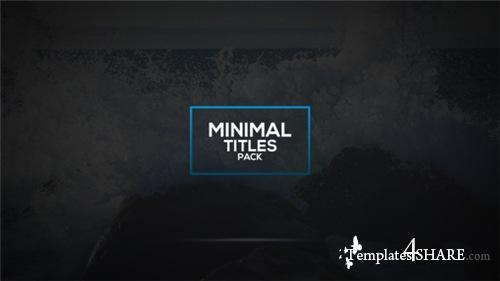 Titles - After Effects Project (Videohive)