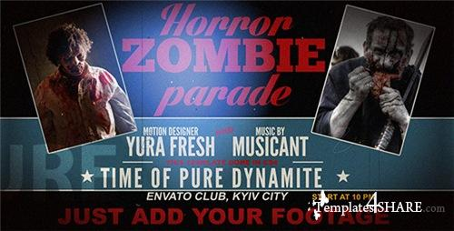 Horror Zombie Parade - After Effects Project (Videohive)