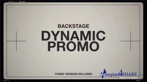 Backstage - After Effects Project (Videohive)