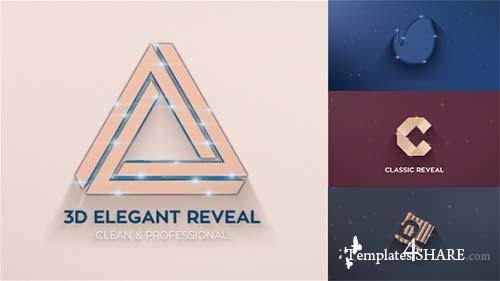 Elegant 3D Reveals - After Effects Project (Videohive)