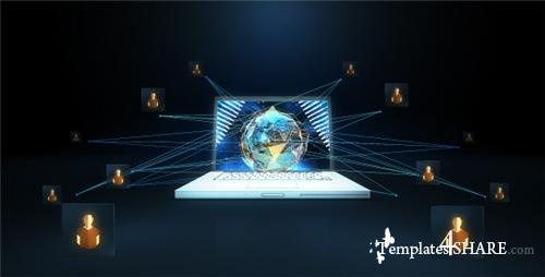 Network Earth - After Effects Project (Videohive)