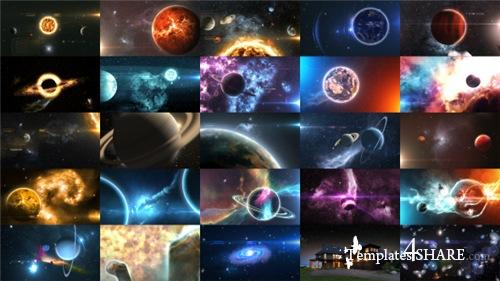 Solar System Massive Kit - After Effects Project (Videohive)