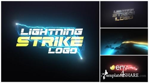 Lightning Strike Logo - After Effects Project (Videohive)