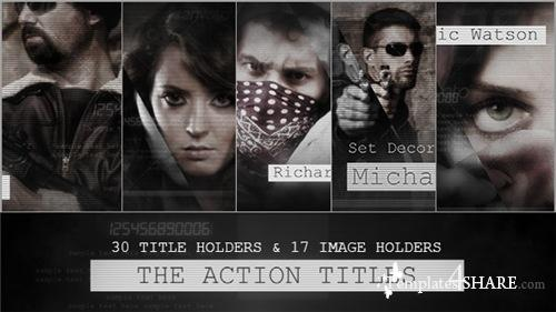 The Action Titles - After Effects Project (Videohive)