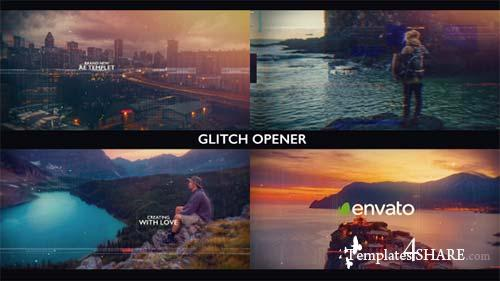 Glitch Opener 20314010 - After Effects Project (Videohive)