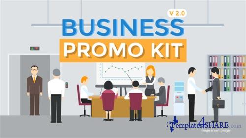 Business Promo Kit - After Effects Project (Videohive)