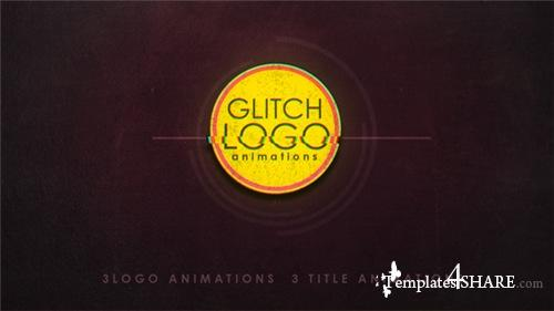 Glitch logo 19910641 - After Effects Project (Videohive)