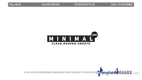 Minimal Titles II - After Effects Project (Videohive)