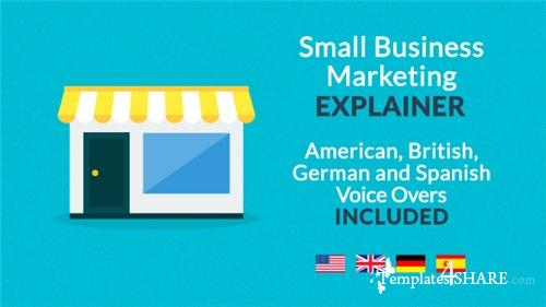 Small Business Marketing Explainer - After Effects Project (Videohive)