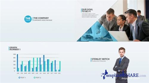 The Company - Corporate Video Package - After Effects Project (Videohive)