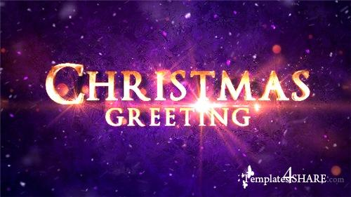 Christmas Greeting Titles - After Effects Project (Videohive)