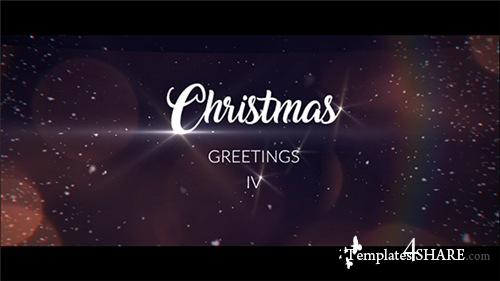 Christmas Greetings IV - After Effects Project (Videohive)