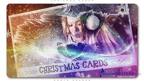 Christmas Cards Photo Opener - After Effects Project (Videohive)
