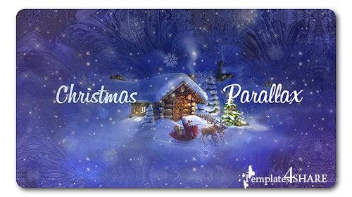 Christmas Parallax Slideshow - After Effects Project (Videohive)