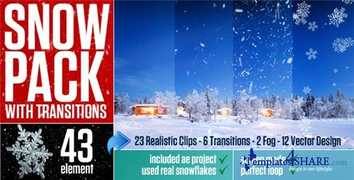 Snow Pack with Transitions - After Effects Motion Graphics (Videohive)