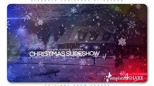 Elegant Christmas Slideshow - After Effects Project (Videohive)