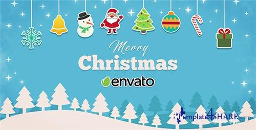 Short Christmas Intro - After Effects Project (Videohive)
