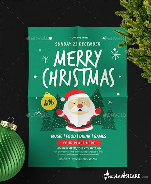 GraphicRiver Christmas Flyer Vol.6