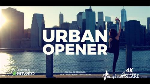 Urban Opener 20949693 - After Effects Project (Videohive)
