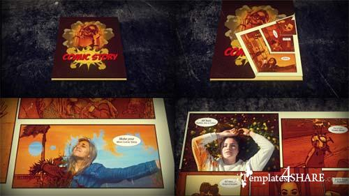 Comic Slideshow - After Effects Project (Videohive)