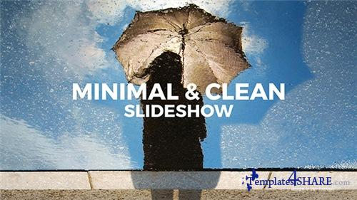 Minimal & Clean Slideshow - After Effects Project (Videohive)