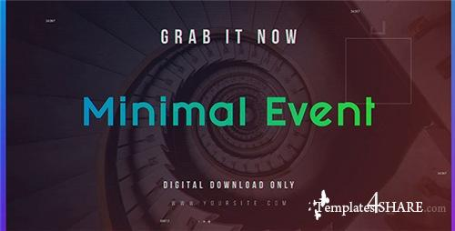 Minimal Event - After Effects Project (Videohive)