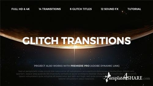 Glitch Transitions - After Effects Project (Videohive)