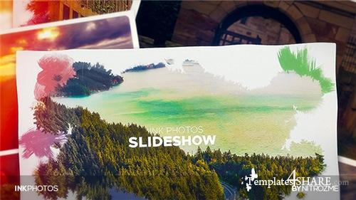Ink Photos - After Effects Project (Videohive)