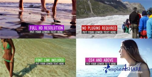 Clean Minimal Slideshow - After Effects Project (Videohive)