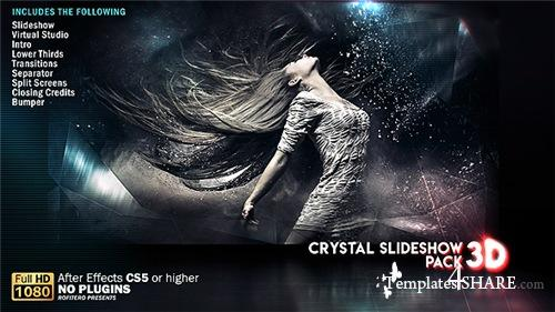 Crystal Slideshow Pack 3D - After Effects Project (Videohive)