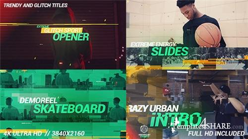 Glitch Dynamic Sport Opener - After Effects Project (Videohive)