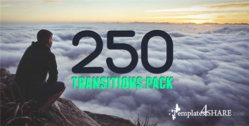 250 Transitions Pack - After Effects Project (Videohive)