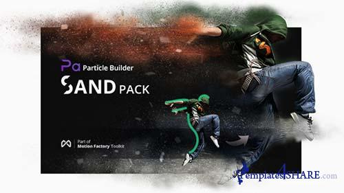 Particle Builder | Sand Pack: Dust Sand Storm Disintegration Effect Vfx Generator - After Effects Project (Videohive)