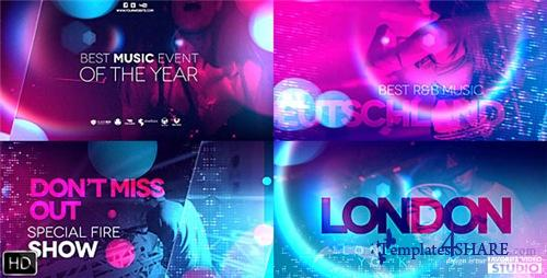 Ultraviolet Music Party - After Effects Project (Videohive)