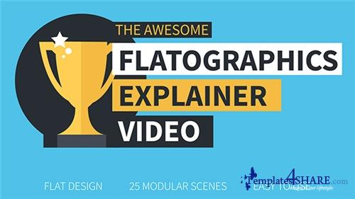 Flatographics Explainer Video - After Effects Project (Videohive)