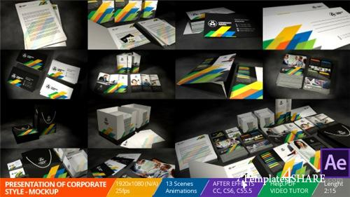 Presentation of Corporate Style - Mockup - After Effects Project (Videohive)