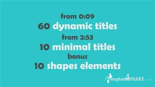 70 Text Animations Pack - After Effects Project (Videohive)
