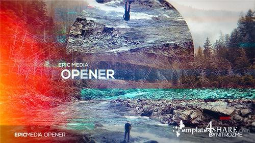 Epic Media Opener - After Effects Project (Videohive)