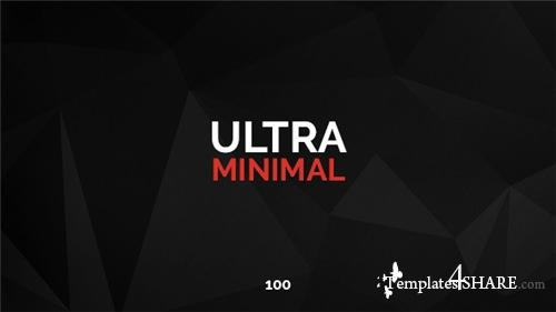 100 Ultra Minimal Titles - After Effects Project (Videohive)