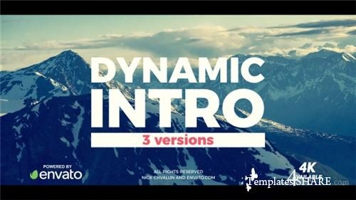 Dynamic Brush Intro - After Effects Project (Videohive)