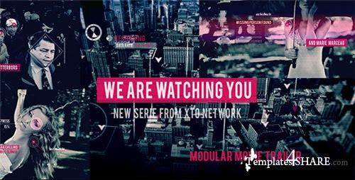 Watching You Movie Trailer - After Effects Project (Videohive)