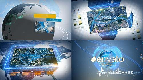 Digital Earth Motion Graphics - After Effects Project (Videohive