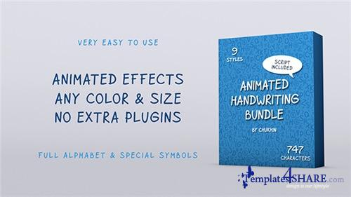 Animated Handwriting Bundle - After Effects Project (Videohive)