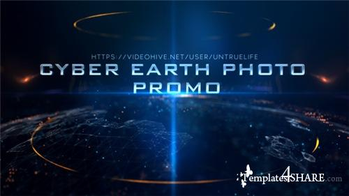 Cyber Earth Photo Promo - After Effects Project (Videohive)