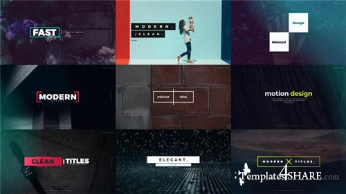 Quick Titles 20470704 - After Effects Project (Videohive)