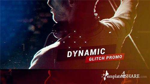 Dynamic Glitch Promo - After Effects Project (Videohive)
