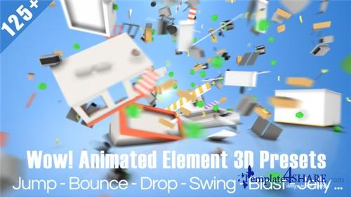 Wow! Dynamic Element 3D Presets - After Effects Preset (Videohive)