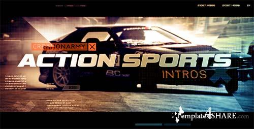 Action Sports Intro - After Effects Project (Videohive)
