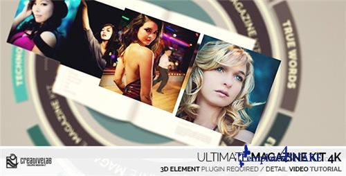 Ultimate Magazine Kit 4K - After Effects Project (Videohive)